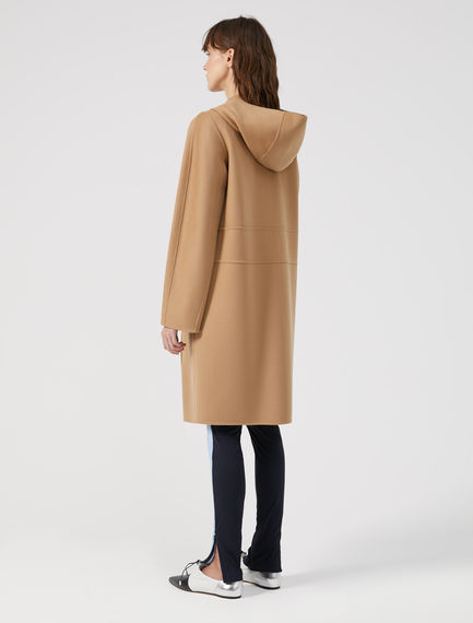 Hooded Wool & Cashmere Coat