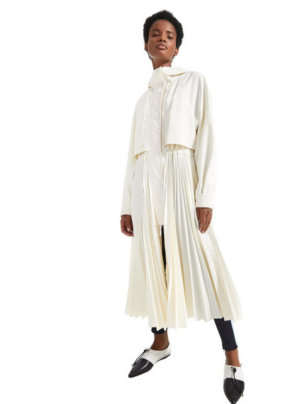 Pleat Fusion Raincoat Sportmax