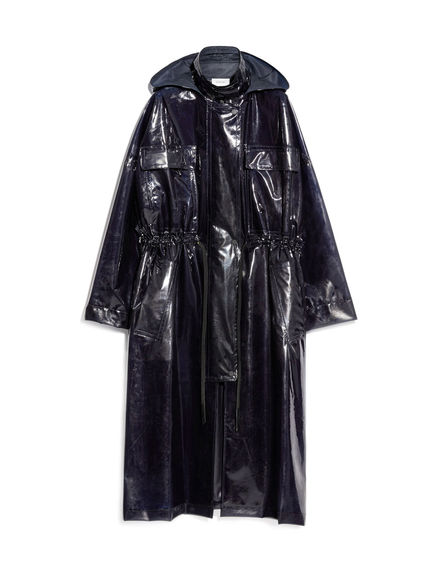 Wet-look PVC Coat