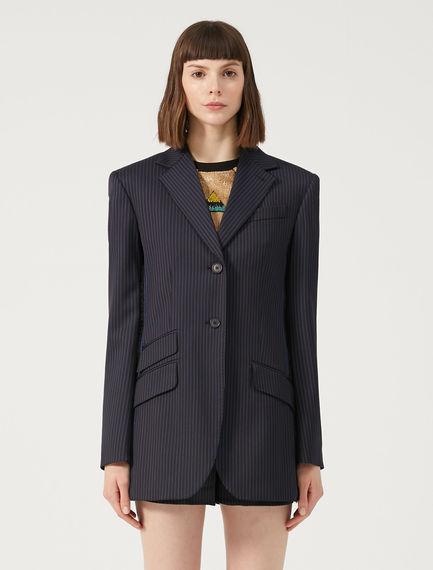 Sartorial Pinstripe Blazer