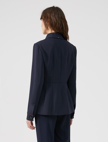 Flowing Button-front Jacket