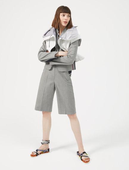 Fabric Banded Blazer