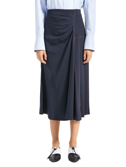 Asymmetrical Pleated Skirt Sportmax