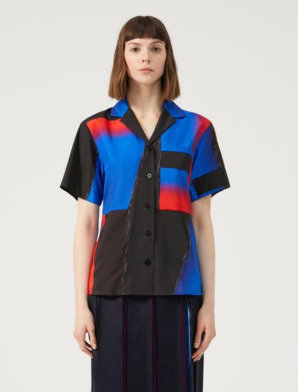 Block Colour Boxy Shirt