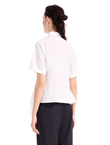 Short-Sleeve Poplin Shirt