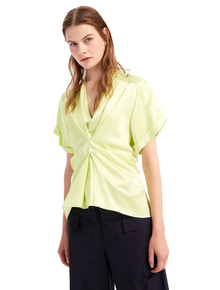 Satin Pleated Blouse Sportmax