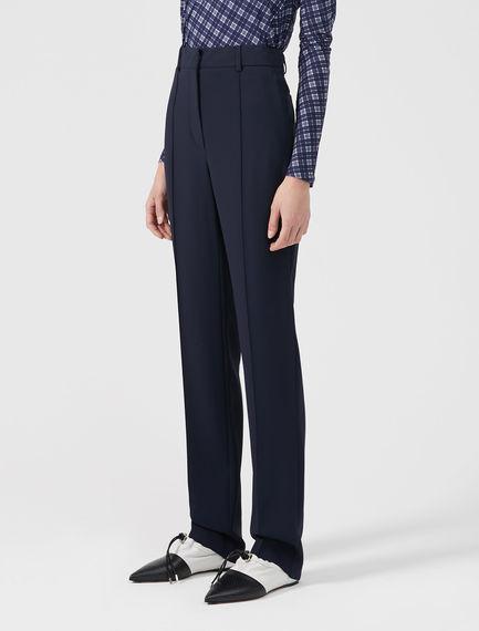 Stretch Viscose Trousers