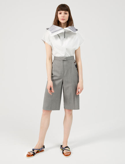 Tailored Cropped Culottes Sportmax