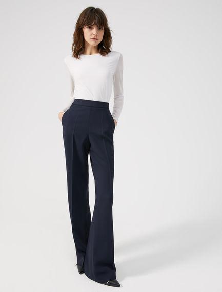 Sartorial Viscose Trousers Sportmax