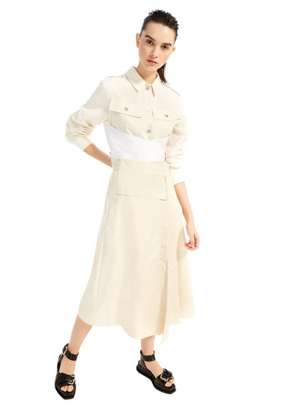 Silk & Cotton Shirt-Jacket