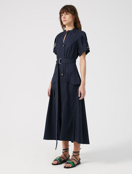 Utility-Style Shirtdress