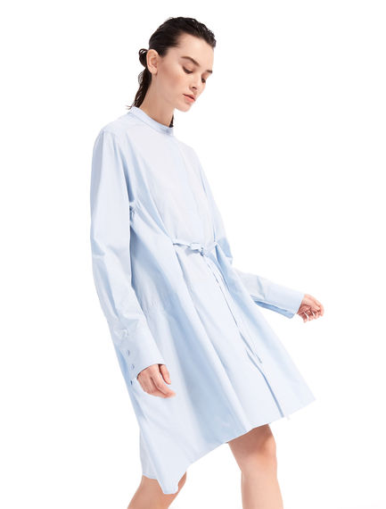 Asymmetric Poplin Shirtdress Sportmax