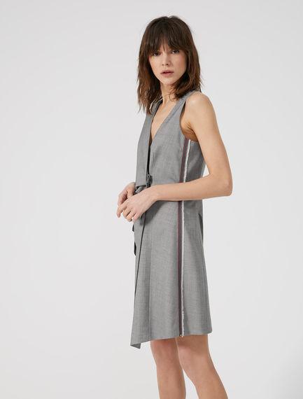 Pinstripe Waistcoat Dress