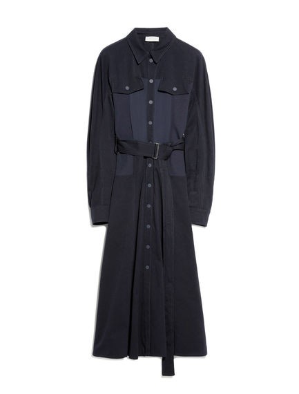 Cavalry Cotton Belted Shirtdress