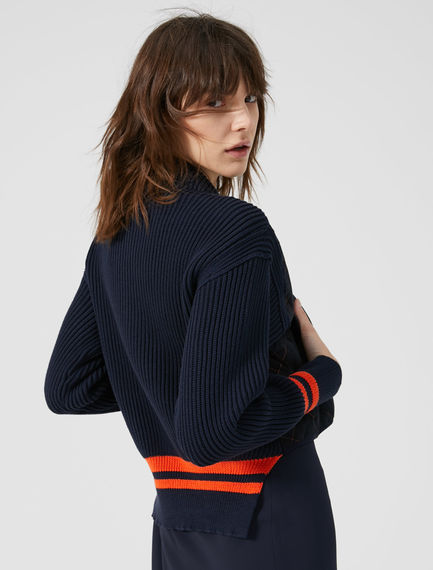 Knitted Bomber Jacket Sportmax