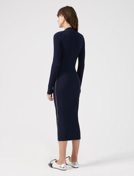 Viscose V-neck Polo Dress