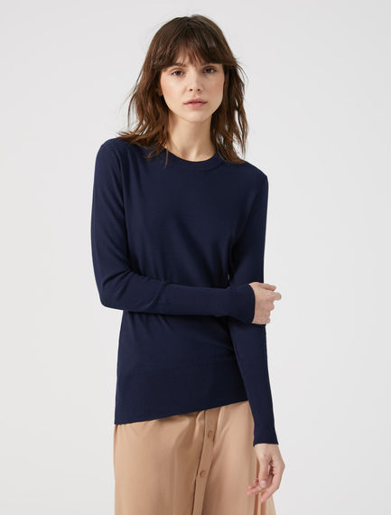 Reversed Knit Viscose Sweater Sportmax