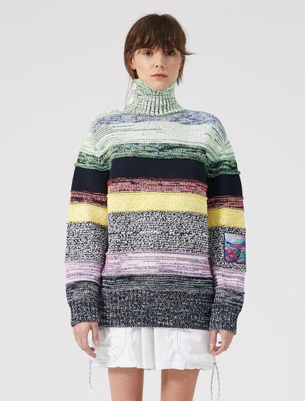Rainbow Striped Sweater