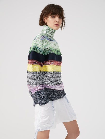 Rainbow Striped Sweater Sportmax