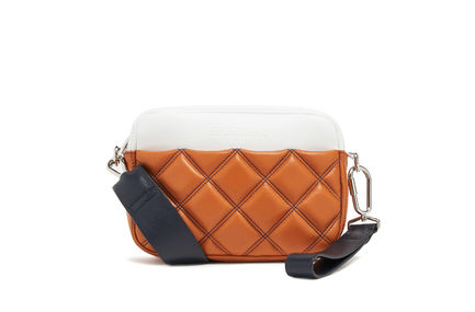 Quilted Nappa Leather Pouch Bag Sportmax
