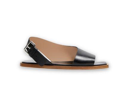 Asymmetric Effect Flat Sandal Sportmax