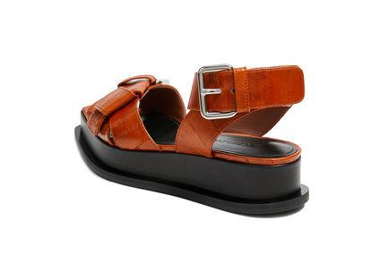 Buckled Platform Sandal