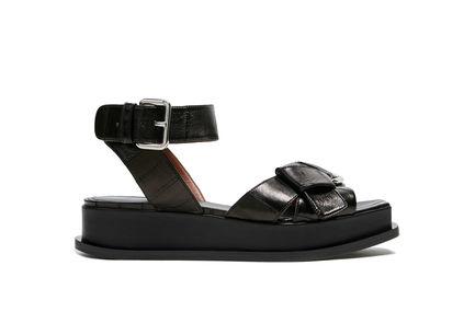 Buckled Platform Sandal Sportmax