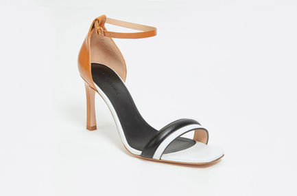 Crossover Leather Sandal Sportmax