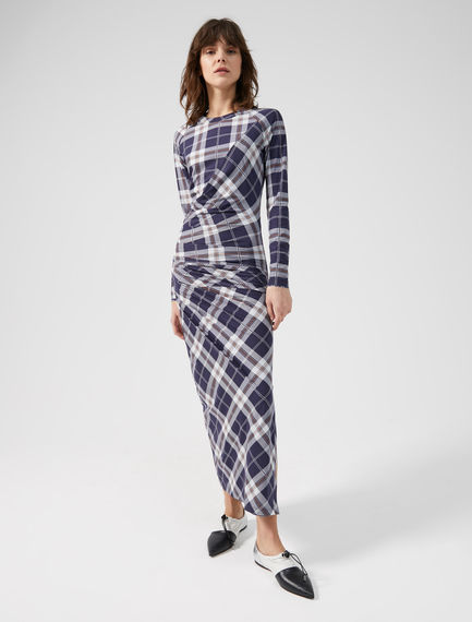 Reversible Check Dress Sportmax