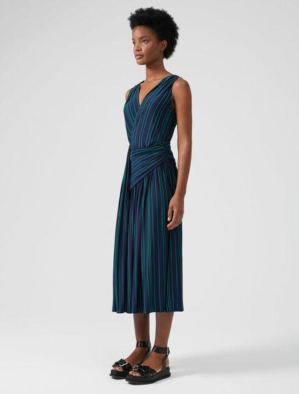 Draped Viscose Dress