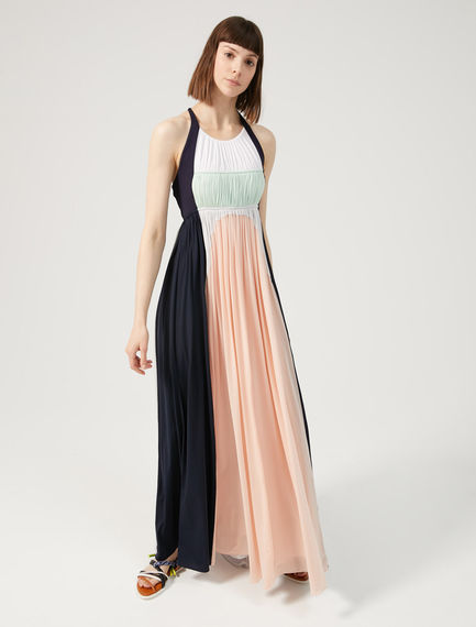 Two-tone Flowing Maxi Dress Sportmax