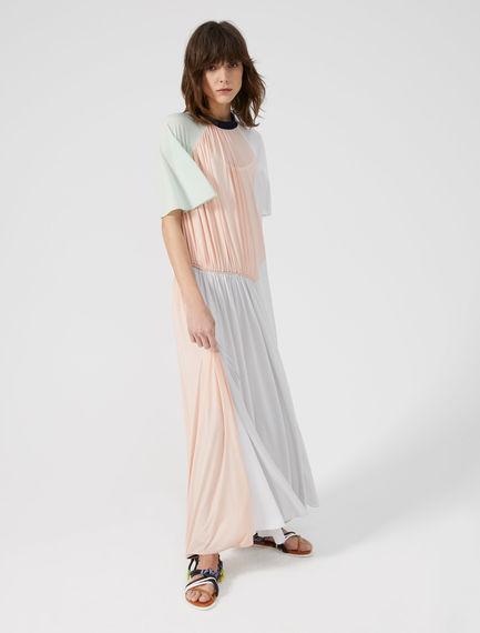 Geometric Print Maxi Dress