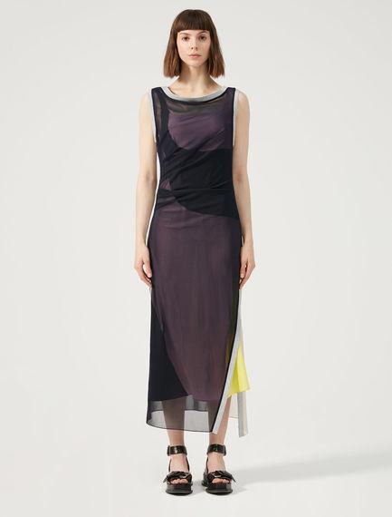 Two-Tone Geometric Dress