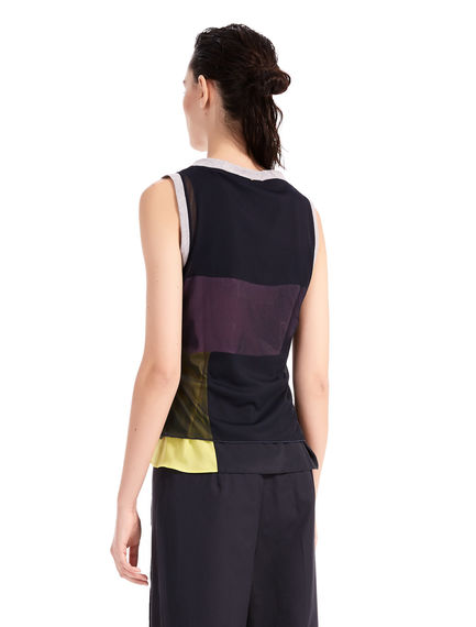 Two-Tone Geometric Top