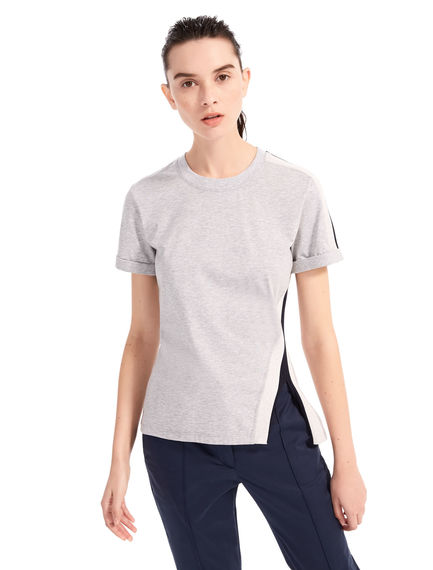 Ribbed Cotton T-shirt Sportmax