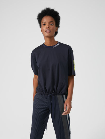 Surf-Style T-shirt Sportmax