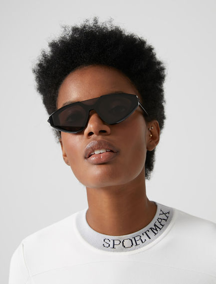 One-piece Speedster Acetate Sunglasses