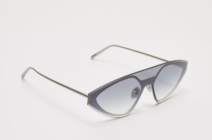 One-piece Speedster Metal Sunglasses