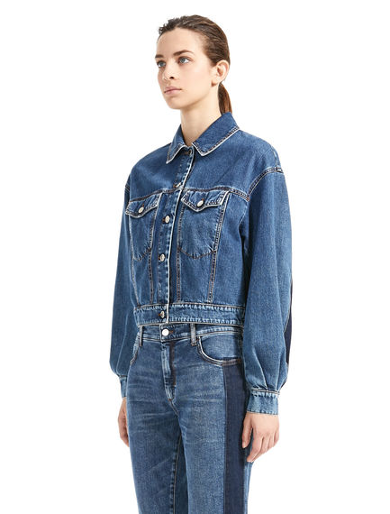 Stripe Back Denim Jacket Sportmax