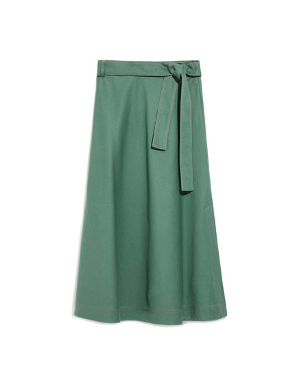 Cotton Drill Mermaid Skirt