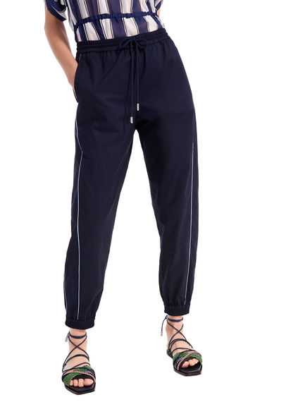Track-Style Jogging Trousers Sportmax