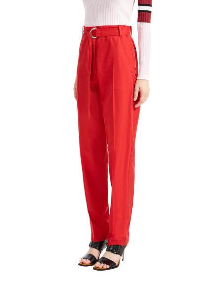 Pantaloni carrot-fit