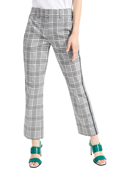 Check Gabardine Trousers Sportmax