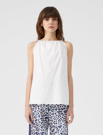 Drawstring Cotton Camisole