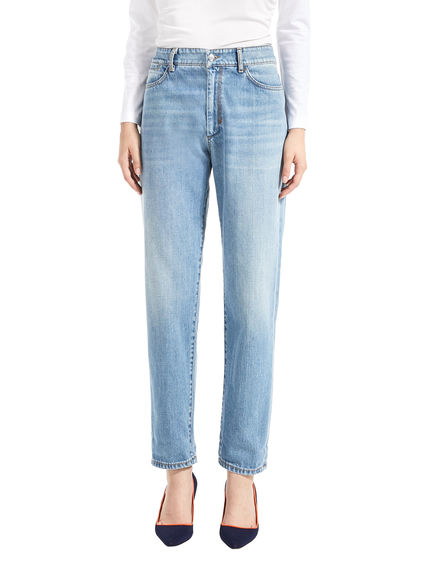 Sleek Boyfriend-Fit Jeans