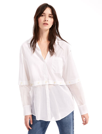 Transforming Cotton Shirt Sportmax