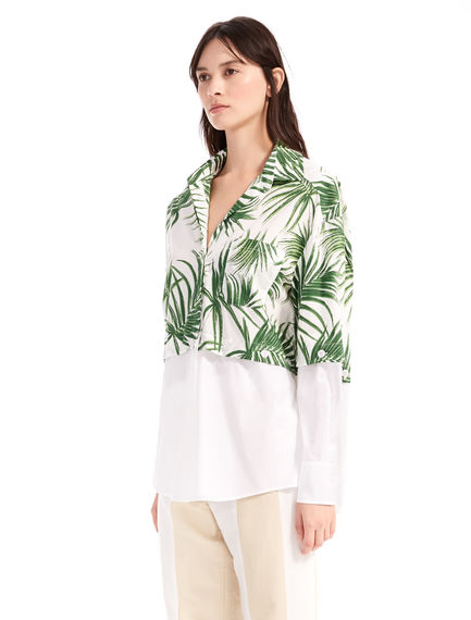 Transforming Palm Print Shirt