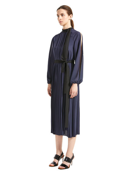 Split-Sleeve Crepe Dress Sportmax