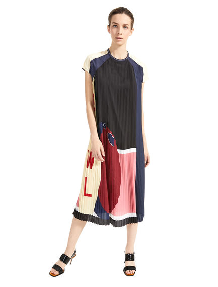 Loose-Fitting Bowling-Print Dress Sportmax