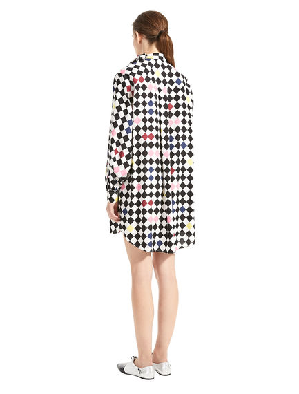 Chequerboard Tunic Dress
